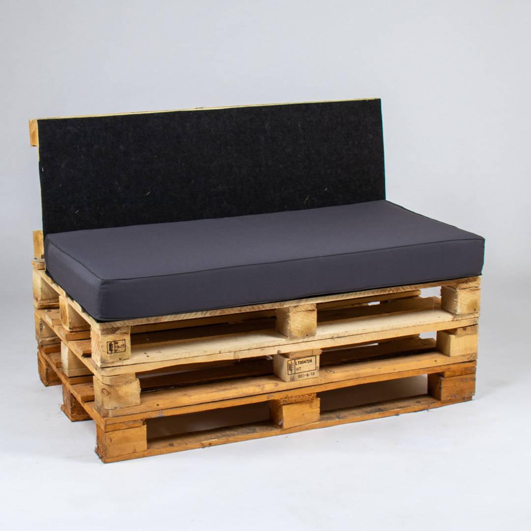 Sitzkissen Europalette.Palette Sitzkissen Mit Keder 120x60x10 Cm