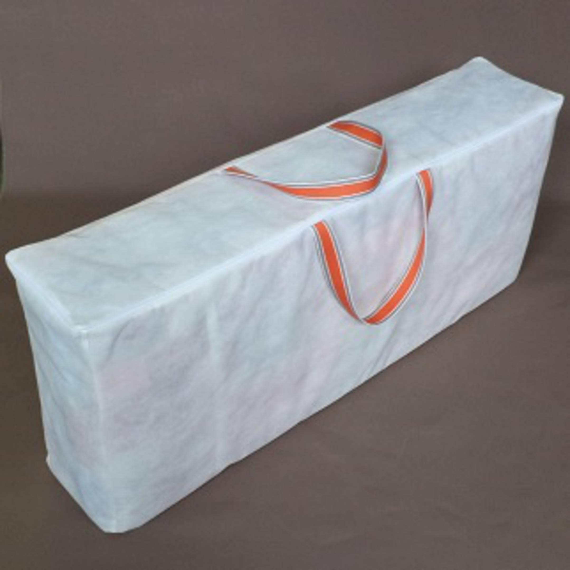 kissen aufbewahrungstasche f r 4 st ck hochlehner auflage in 5 cm dicke 125x25x52 cm. Black Bedroom Furniture Sets. Home Design Ideas